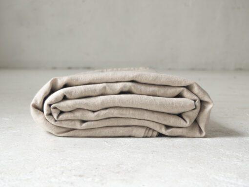 Flache Bettwäsche aus Leinen