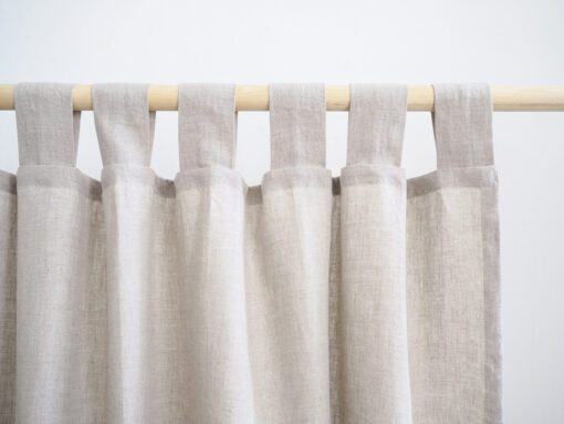 Linen curtains ready made
