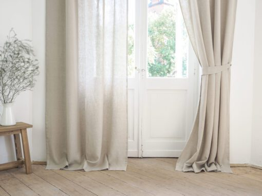 sheer linen curtains