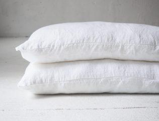 Biała poszewka na poduszkę