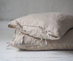 Poszewka na poduszkę z troczkami