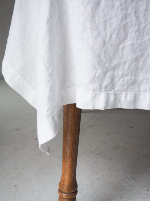 Large linen tablecloth