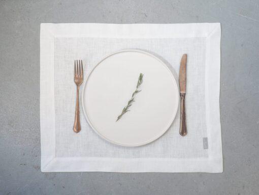 lniane podkładki pod talerze