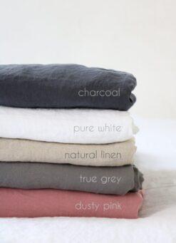 Linen pillowcases 20x36