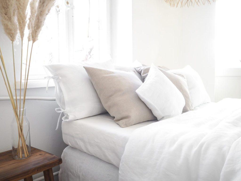 Linen bedding 200x200