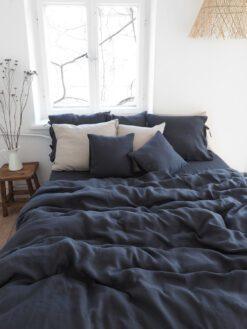 Polnische Leinen Bettbezug