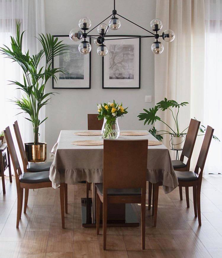 How to choose the tablecloth size