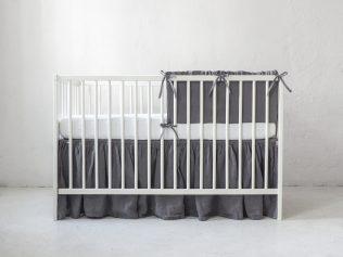 Ochraniacz na szczebelki do łóżeczka dla chłopca