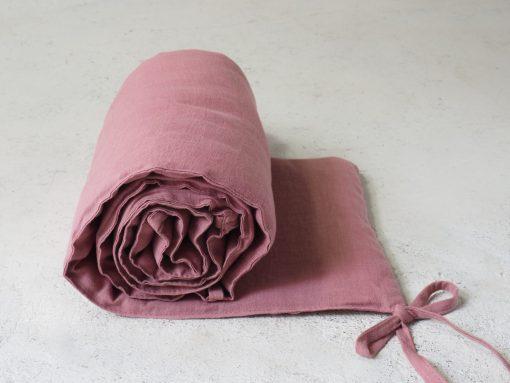 Rosa Leinenkrippe Stoßstange