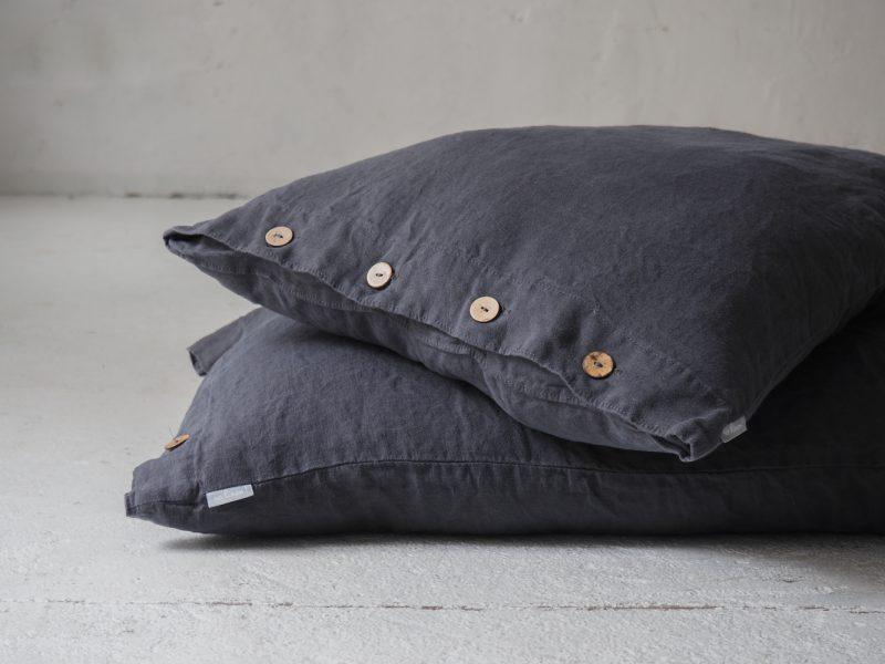 Linen super king pillowcase