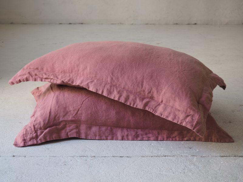 Linen queensize pillowcases