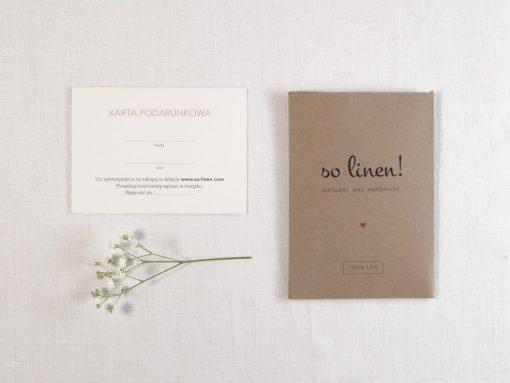 So Linen Geschenkkarte