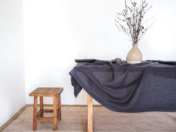 Elegant linen tablecloth