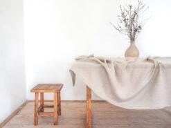Rectangle linen tablecloth