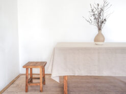 Rectangle linen tablecloth
