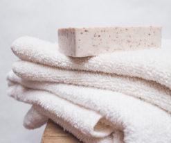 lniany ręcznik frotte