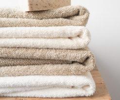 Ręcznik z lnu frotte