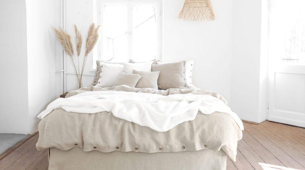 linen bedding for summer