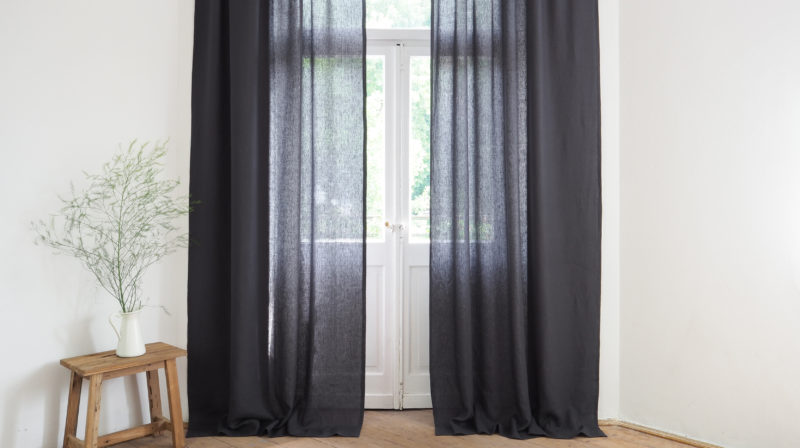 how to choose the length of the curtains