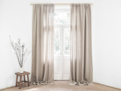 heavy linen curtains