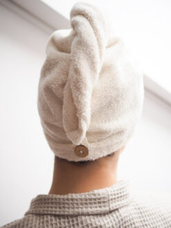 Linen terry turban
