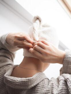 Leinen-Haarturban