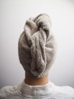 turban frotte z lnu