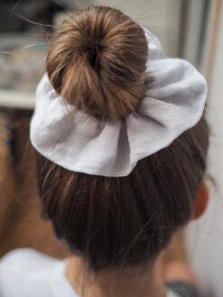 Gumka do włosów z lnu