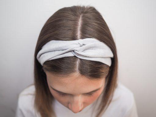jasnoszara Lniana opaska do włosówP6110576-kopia