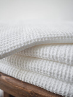 Ręcznik lniany wafel