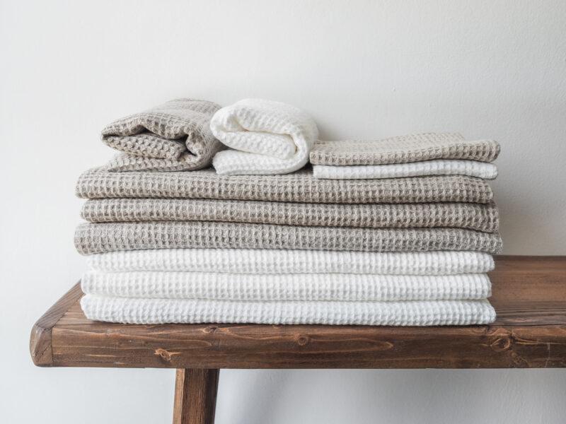 ręczniki waflowe
