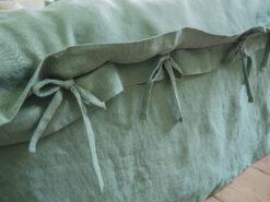 Bettwäsche aus Eukalyptus-Leinen